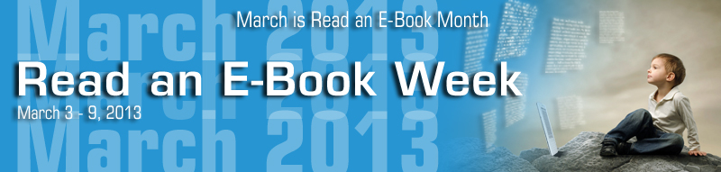 Read an E-Book Week Banner