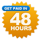 Get Paid in 48 Hours