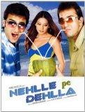 Nehlle Pe Dehlla(Indian Film/ Bollywood Moive/ Hindi Film/ Ajay Chandok/ Daboo Malik/ Saif Ali Khan/ Sanjay Dutt/ Bipasha Basu/ Kim Sharma/ DVD)
