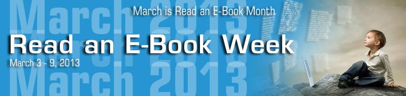 Read an E-Book Week Banner